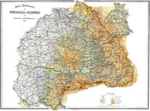 Transylvania and Bucovina, 1915