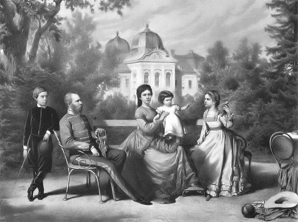 The Austrian Imperial family in Gödöllő (wikipedia.org)