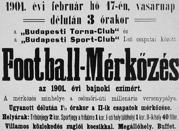 """""""Budapesti Torna-Club"""""""