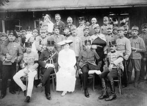 Disabled soldiers (Fortepan)