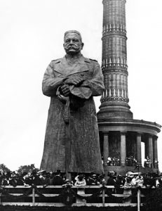 The monument of Hindenburg in Berlin