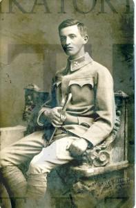 Ember Lajos portréja, 1917