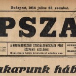 Népszava, 1914. július 25.
