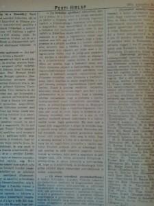 A birkahús ajánlása. Pesti Hírlap, 1914. augusztus 24.