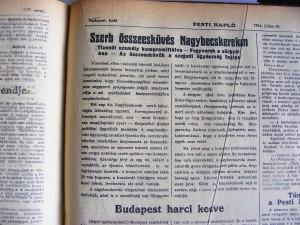Szerb összeesküvés Nagybecskereken. Pesti Napló, 1914. július 29.