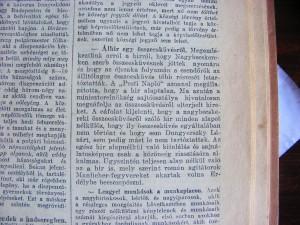 Álhír egy összeesküvésről. Pesti Napló, 1914. július 30.