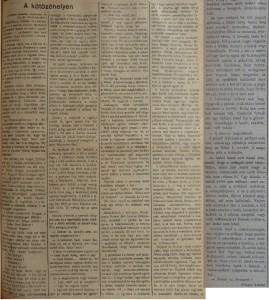 A kötözőhelyen. Az Est, 1914. szeptember 29.