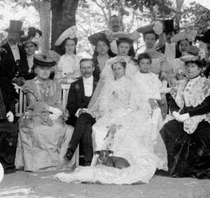 Esküvő 1910 körül