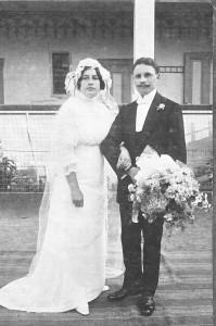 Esküvő 1914-ben