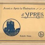 Az Ypres puszulását bemutató képeslapgyűjtemény borítója