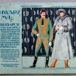 Az 1914-es Schwarz-féle képes libériakatalógus színes címlapja