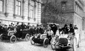 Automobil korzó, 1902