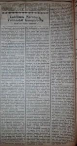 Lublintól Tarnovig, Tarnovtól Ivangorodig. Az Est, 1914. november 5.