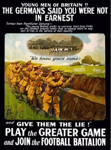Football battalion poster