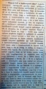 Hogyan kell hadikenyeret sütni? Pesti Napló, 1915. február 24.