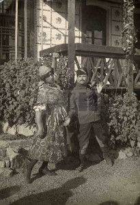 1919. október. Visszavárnak, Az operett 3. felvonásának egyik jelenete. PIL fotótár
