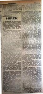 Megvan az olcsó hús!  Népszava, 1915. június 5.