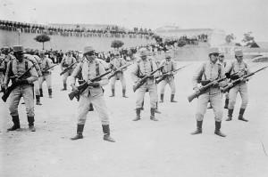 Portugál csapatok kiképzése