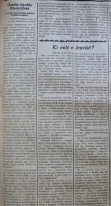 Örménylázadás Kisázsiában. Az Est, 1915. július 4.