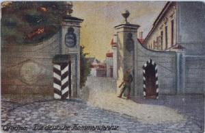 A grodnoi német parancsnokság (Lengyel Nemzeti Könyvtár; CC BY-SA 3.0 licensz)