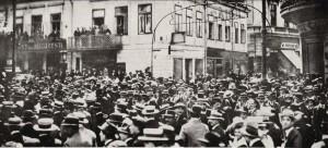 Antantpárti tüntetés Bukarestben, 1915