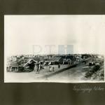 A krasznojarszki legénységi tábor látképe
