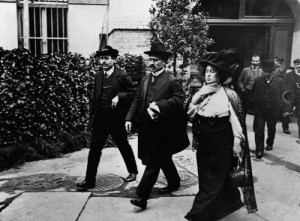 Karl Liebknecht és Rosa Luxemburg, 1909