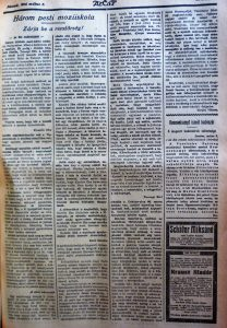 Három pesti moziiskola. Az Est, 1916. május 5.