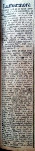 La Marmora. Az Est, 1916. június 10.