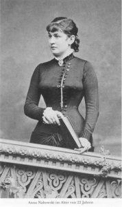 Anna Nahowski portréja (Forrás: wikimedia)