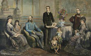 Ferenc József családja körében (Wikipedia)