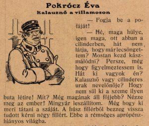A Borsszem Jankó élclap írása, 1916. november 17.